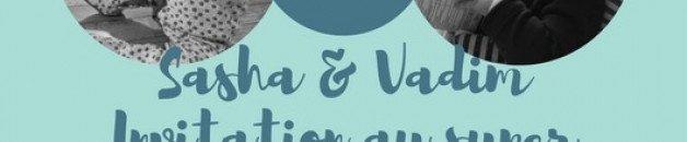 Sasha & Vadim 1er Anniversaire